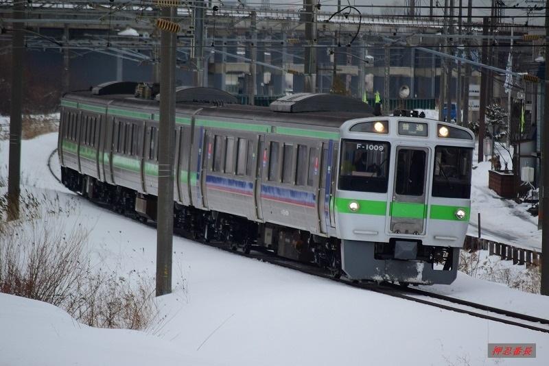 2125M 721系F-1009 札幌発滝川行 20200302