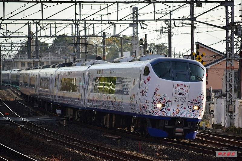 1009M はるか9号 281系電車 米原発関西空港行 20191124