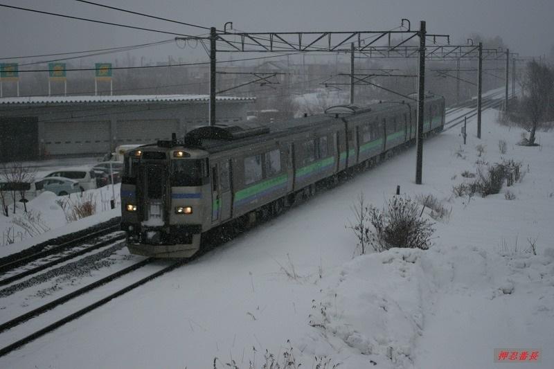 192D 201系気動車 D-102 江別発手稲行 20200223