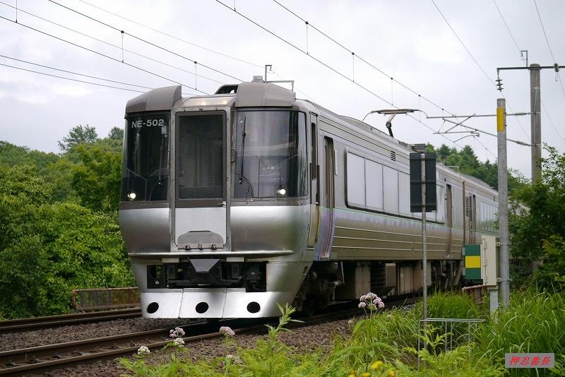 1007M すずらん7号 785系NE-502 20190713