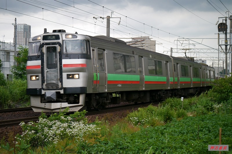 1778M 731系G-111 札幌発千歳行 20190715
