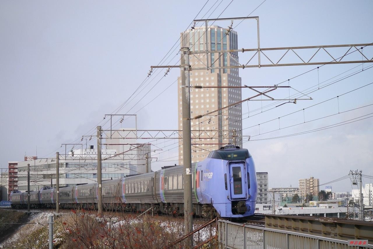 4002D スーパーおおぞら2号 283系気動車 20200102