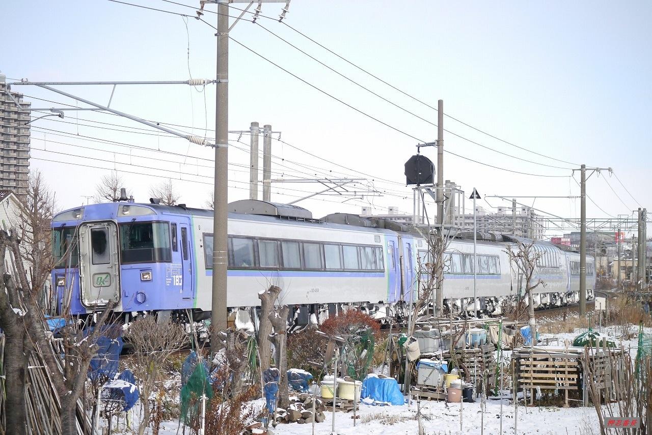 72D オホーツク2号 遅延 183系気動車 20200102