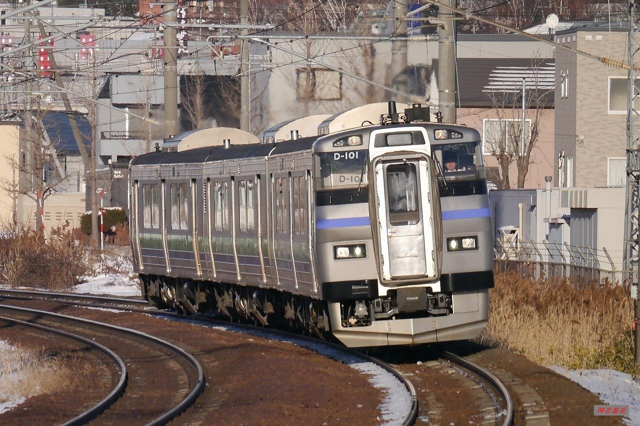 192D 201系気動車D-101 20200109