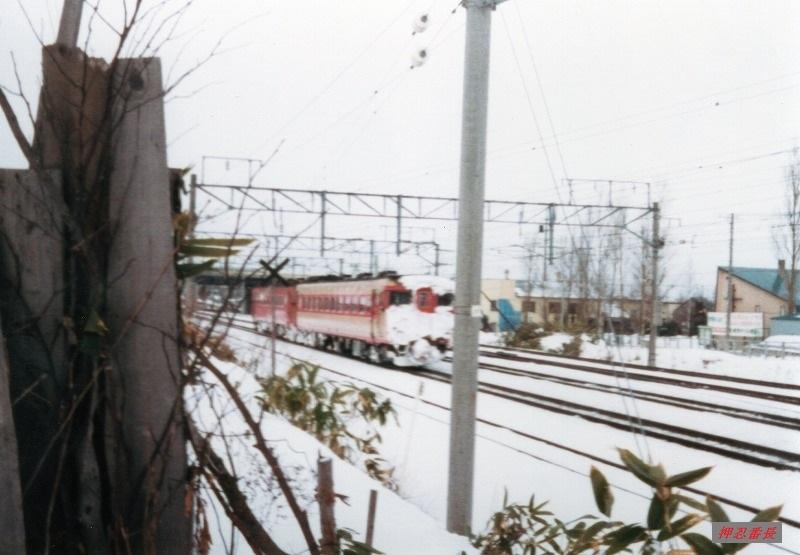 キハ22+キハ56 1982頃 函館線