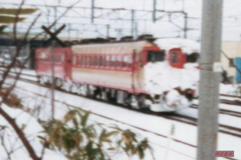 キハ22+キハ56 1982頃 函館線 トリミング