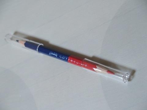 赤青鉛筆 DAISOキャップ