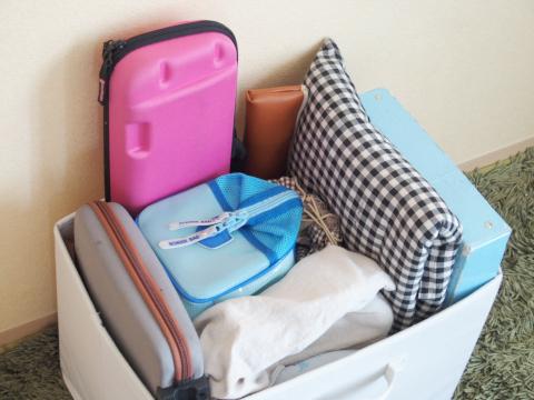 小学校の持ち帰り荷物