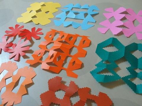 折り紙 切り絵