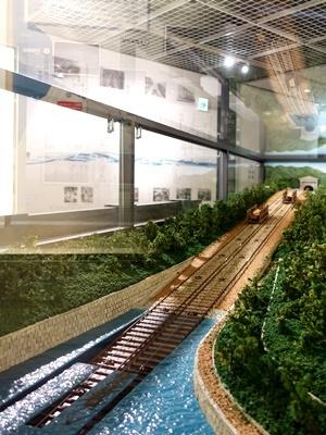 琵琶湖疎水記念館インクライン模型1907
