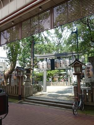守居神社夏祭り1907