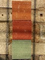 透水性タイル3色1908