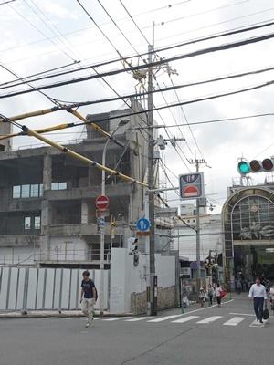 京阪スーパー桃山解体工事中1909