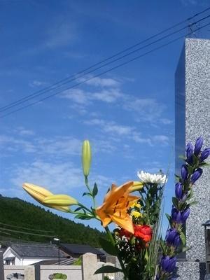 秋のお彼岸墓参1909
