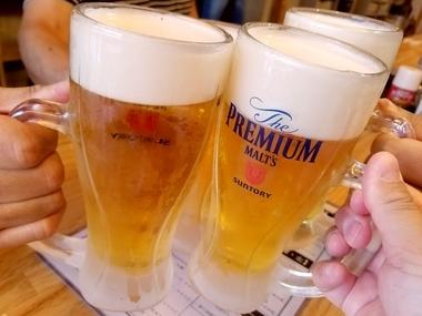 ビール旨し!