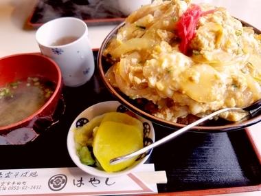 ジャンボカツ丼!