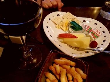 再び赤ワイン!