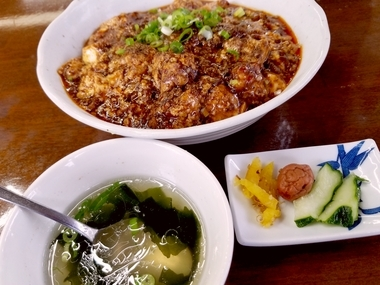 安来を代表する中華料理!