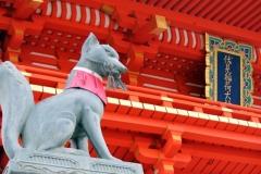 稲荷神社 稲荷社 狛狐