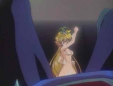 でたとこプリンセス ラピスの全裸ヌード入浴シーン乳首16