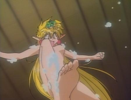 でたとこプリンセス ラピスの全裸ヌード入浴シーン21