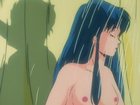 ダーティペアTV版HDリマスター版ブルーレイ ユリの胸裸ヌードシャワーシーン乳首24話BD1