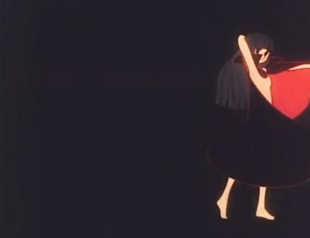 ときめきトゥナイト エンディング 江藤蘭世のヌード全裸マント姿ED1
