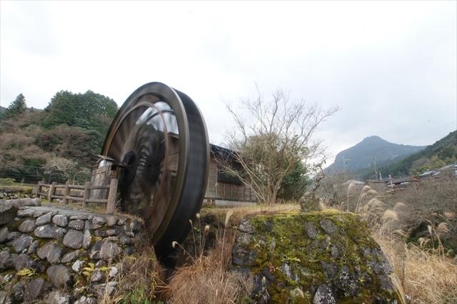 岩岳川の水車-3 0.8