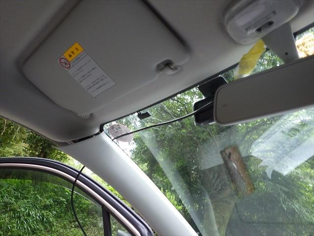 ドライブレコーダー取り付け-1