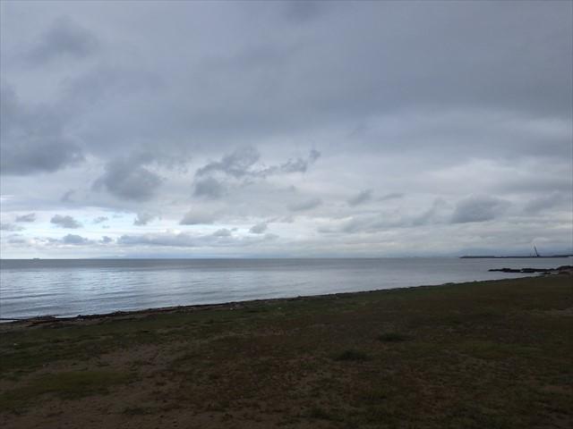 簑島の浜辺