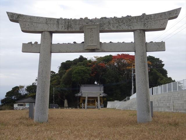 簑島の神社