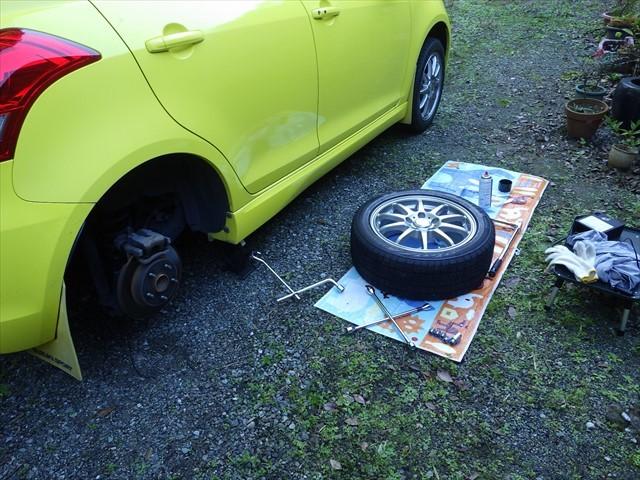 タイヤ交換-1