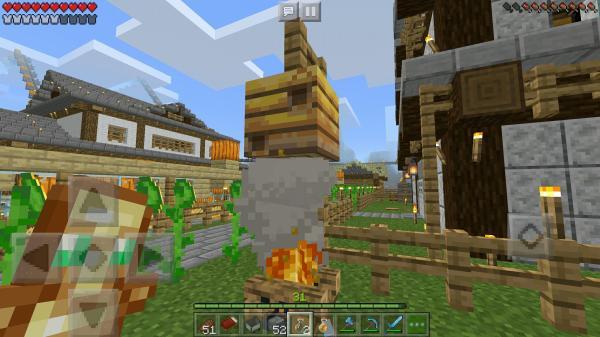 焚き火 マイクラ 蜂の巣