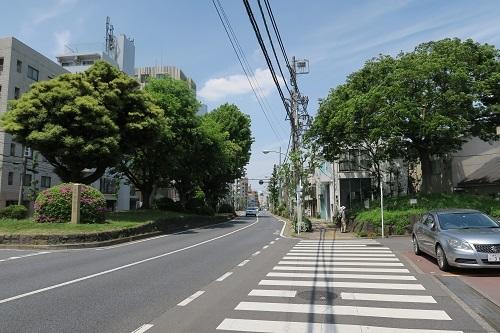 30 西ヶ原一里塚a