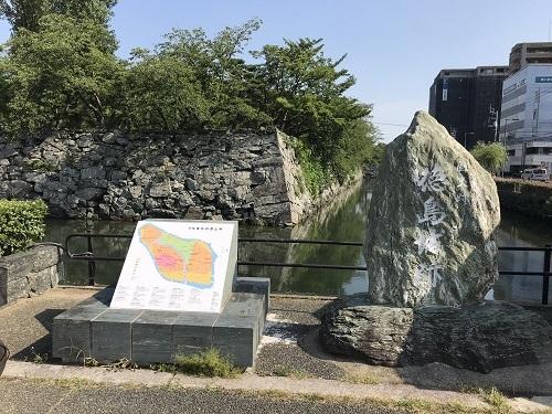 徳島城 堀石垣 (2)a