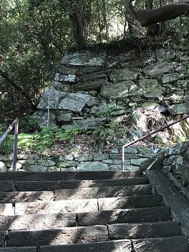 徳島城 石垣a