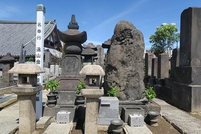 遠山金四郎墓a