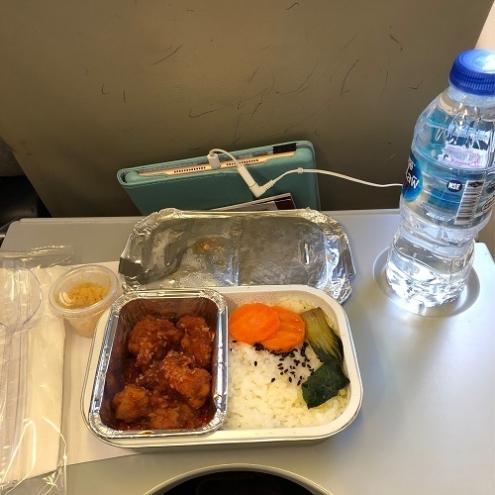 エアアジアX・機内食