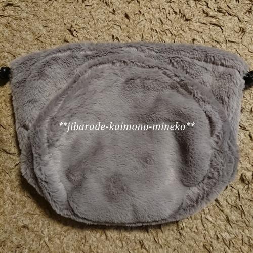 ファー巾着2