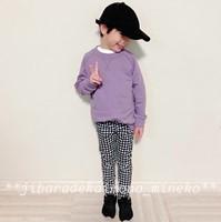 ニッセン紫トレーナー22