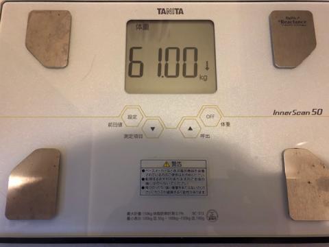 191202中間決算体重