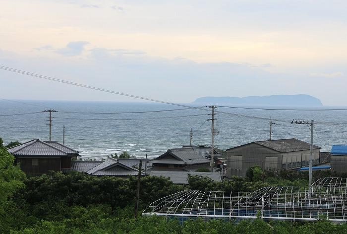 窓から海 曇り空の海 1 6 30