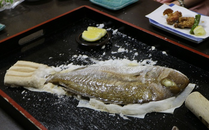美味しそうな鯛が出て来ました 1 8 7