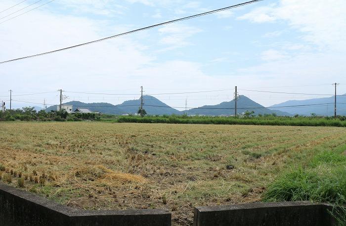 浅津の稲刈り終わっていました 1 8 21