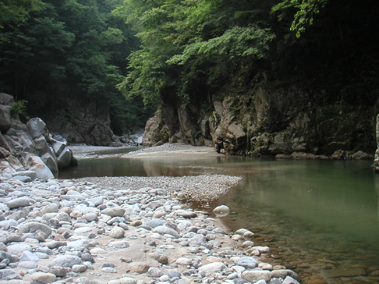 阿智川 風景1(1)