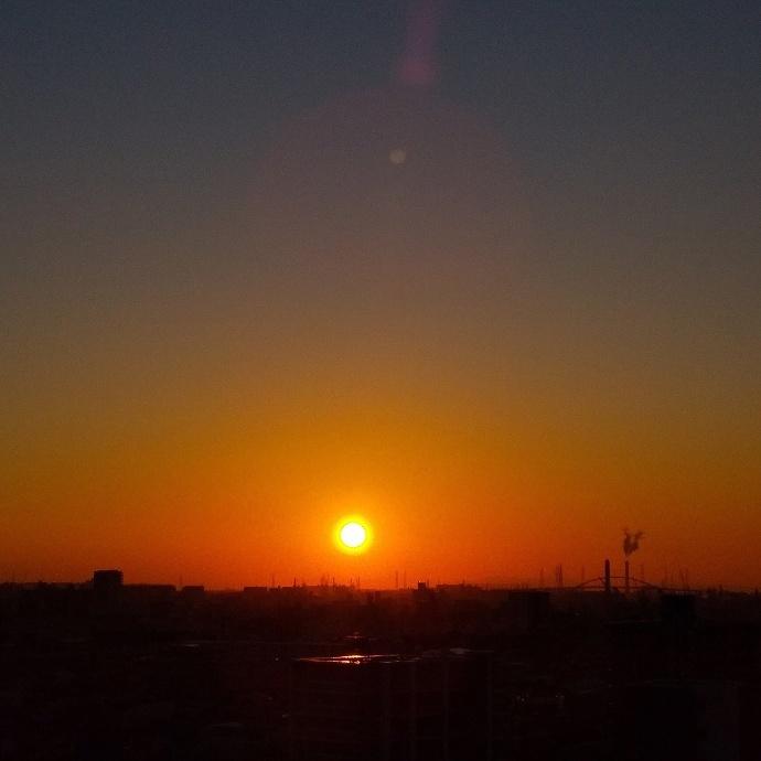 200204夕陽