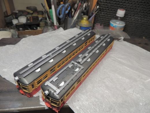 京阪1300 MMモデル 工房特製完成品 製作画像
