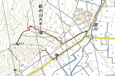萩ノ山log