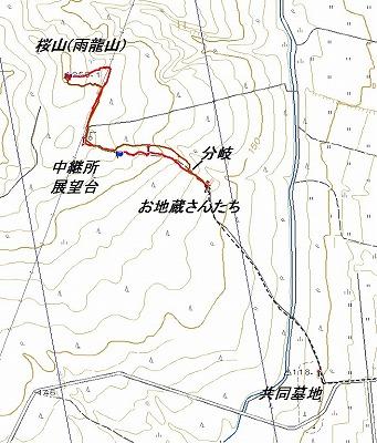 雨竜山log