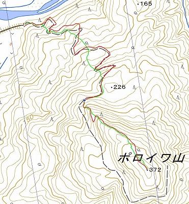 ポロイワ山log